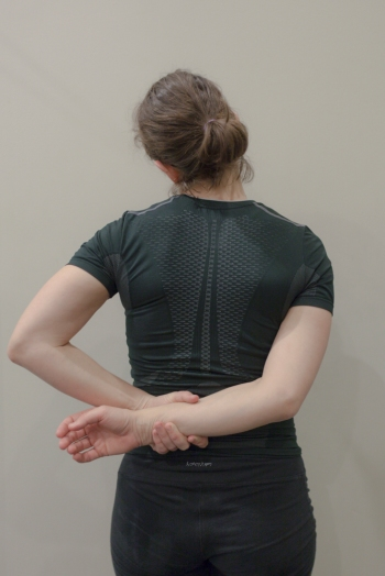 Upper Trap and Side of Neck Stretch