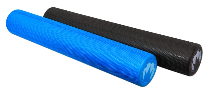 Blue and Black Foam Roller