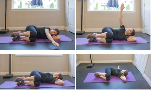 Side Lying Thoracic Extension Rotation