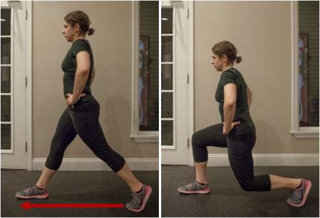 Traditional Forward Lunge