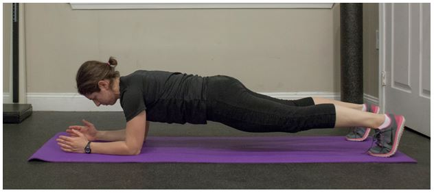 Exercise Of The Week The Prone Plank Sustainable Exercise