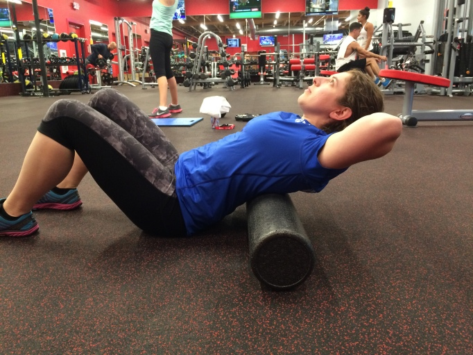 Foam Roller Thoracic Extension 1
